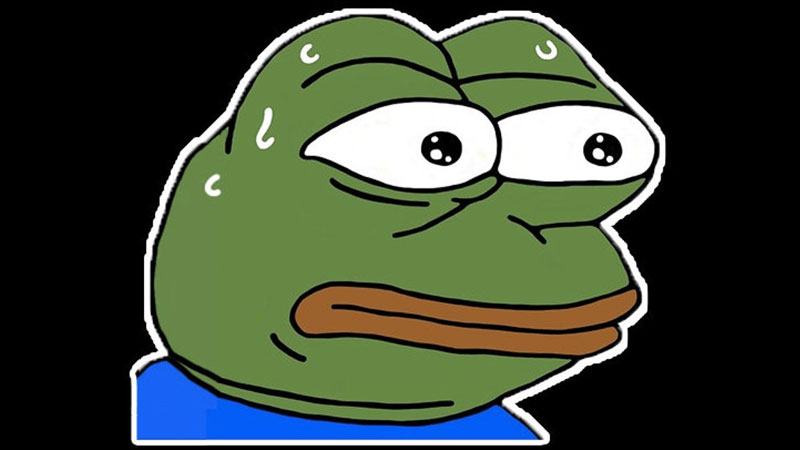 pepehands clipart monkas emote