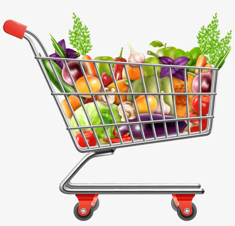 shopping carts clipart vegetable