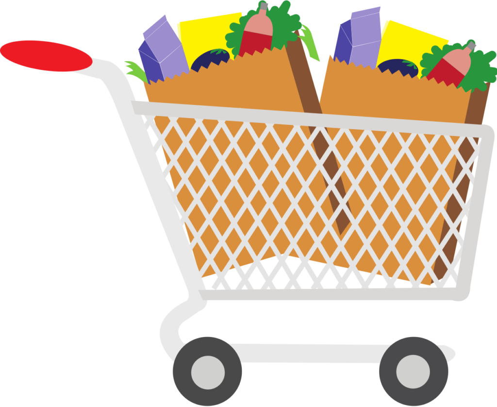 grocery clipart mother