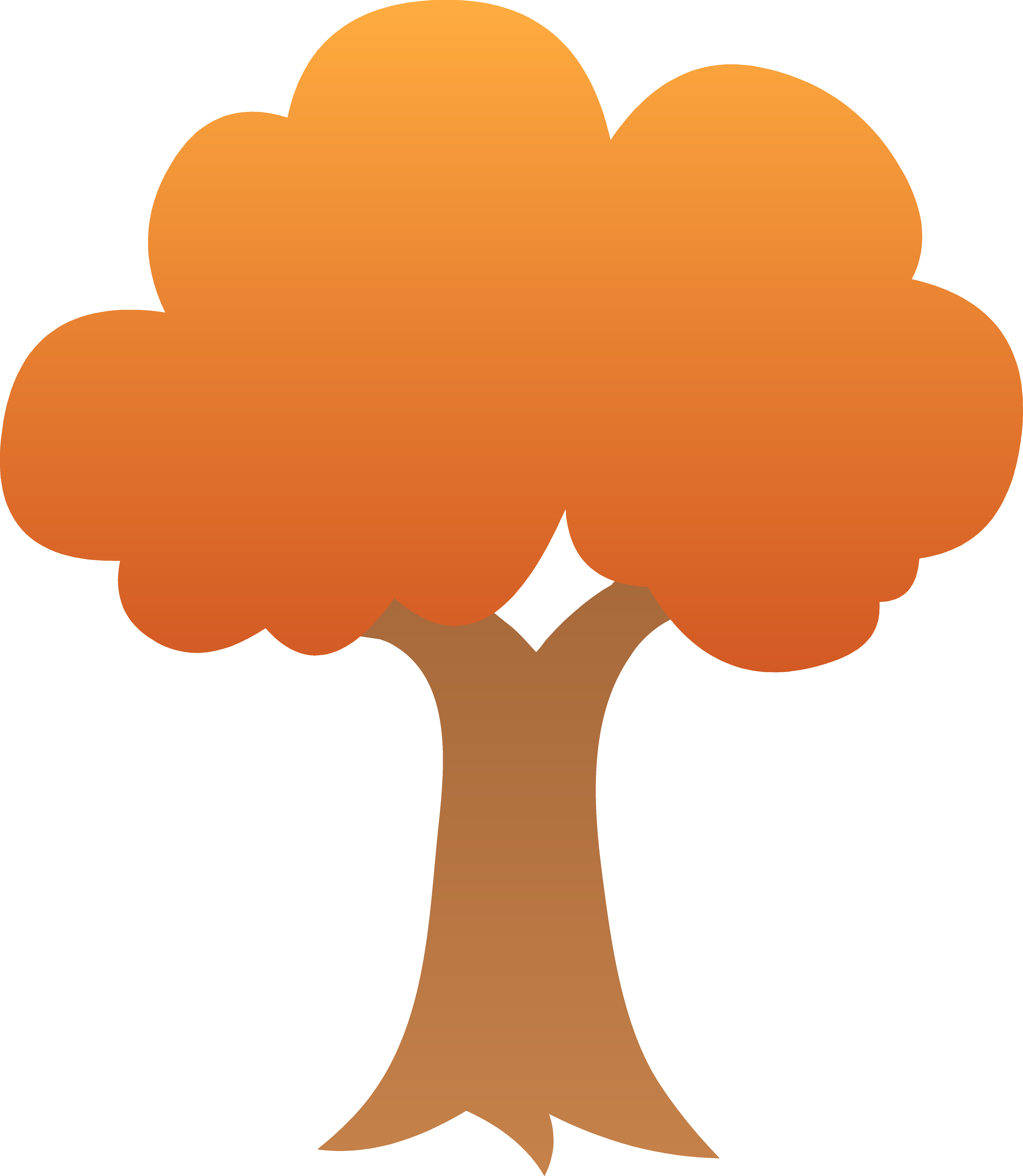 free tree clipart color