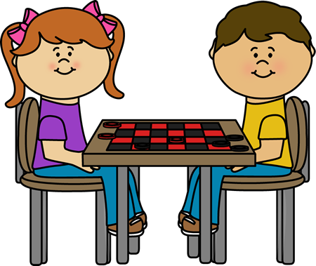 board game clipart checkers