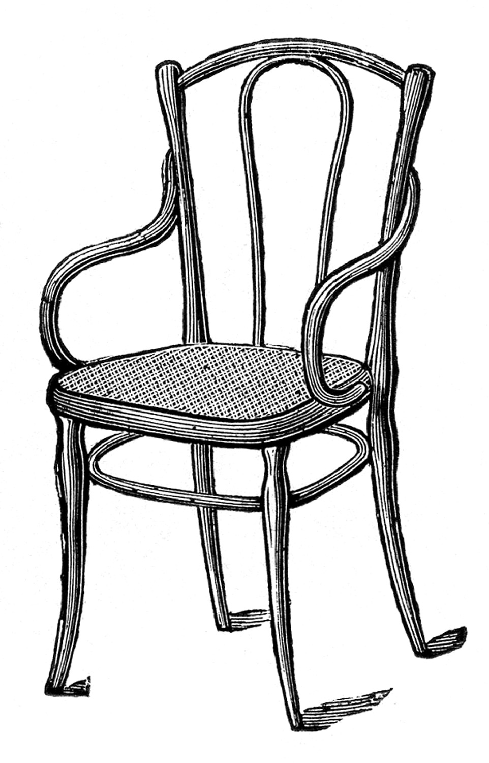 furniture clipart black