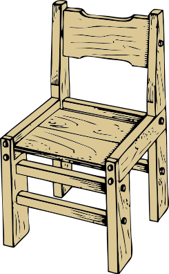 chair clipart old