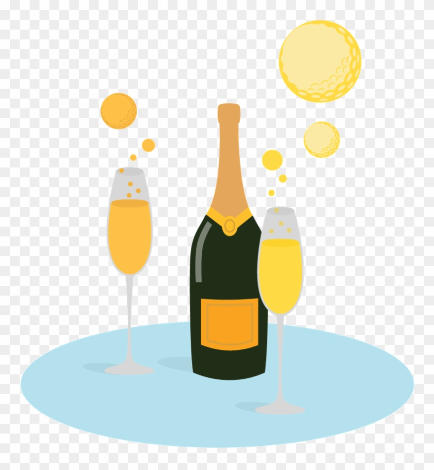 Champagne clipart bubble.
