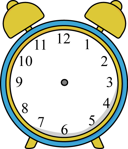 time clipart clock