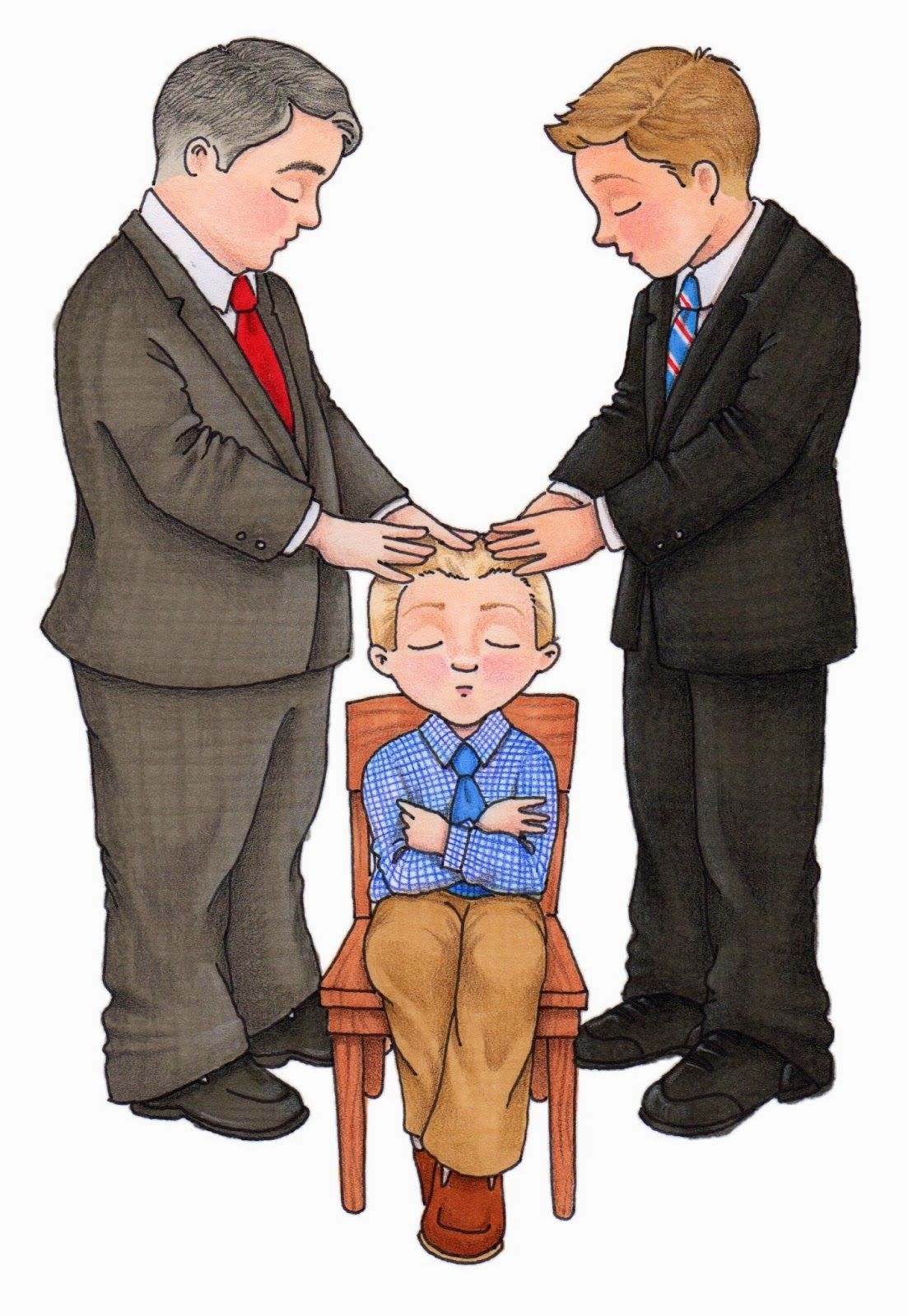 lds clipart blessing