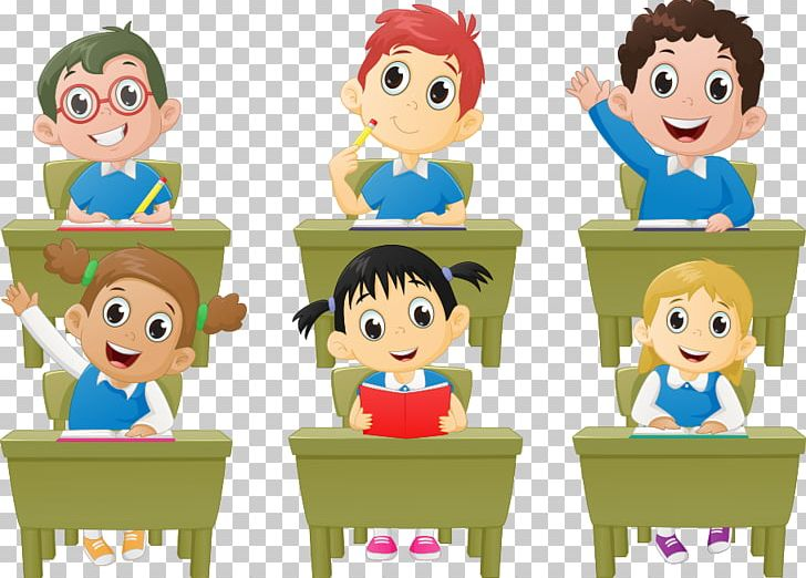Characters clipart student.