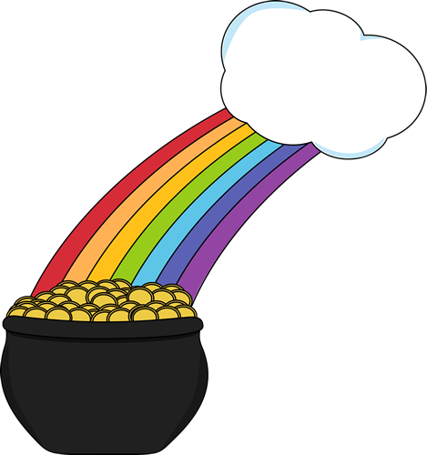 st patrick-s day clipart rainbow