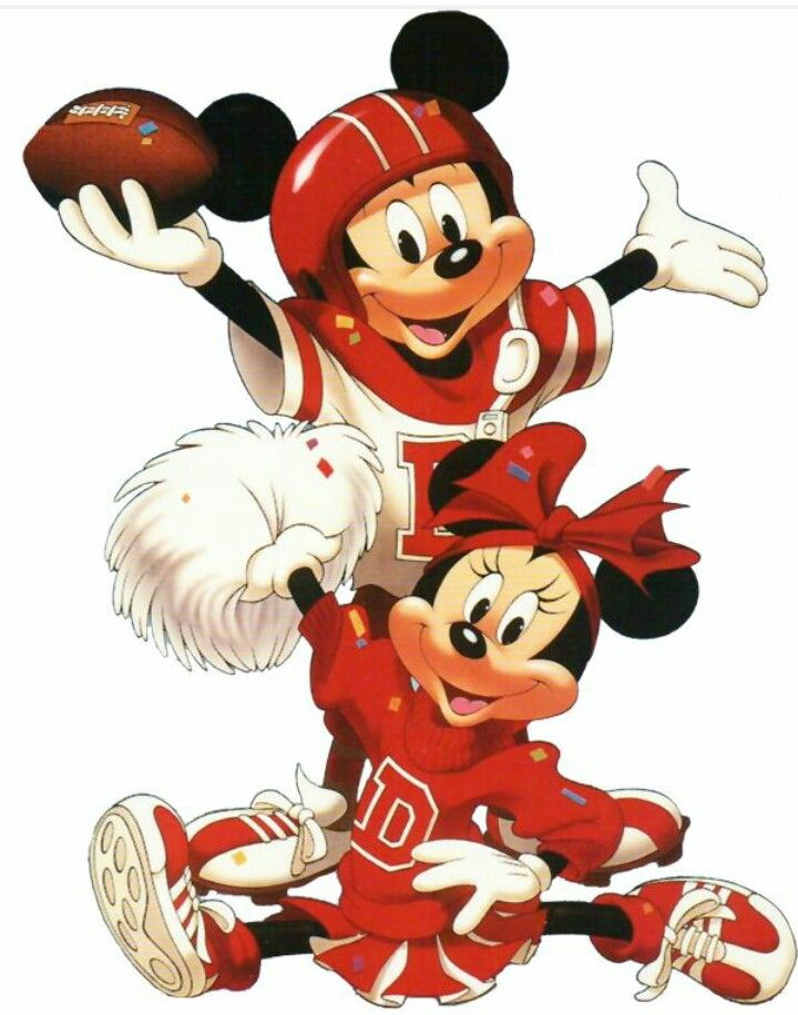 Cheerleader clipart minnie mouse.