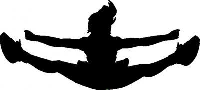 cheerleading clipart toe touch