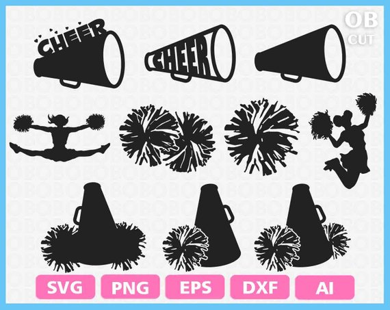 Cheer clipart pom.