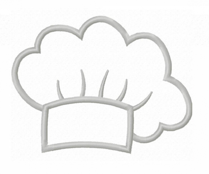 chef hat clipart red