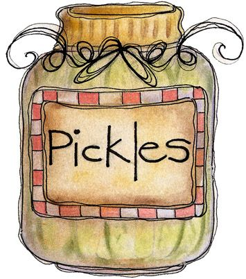 pickle clipart pickling
