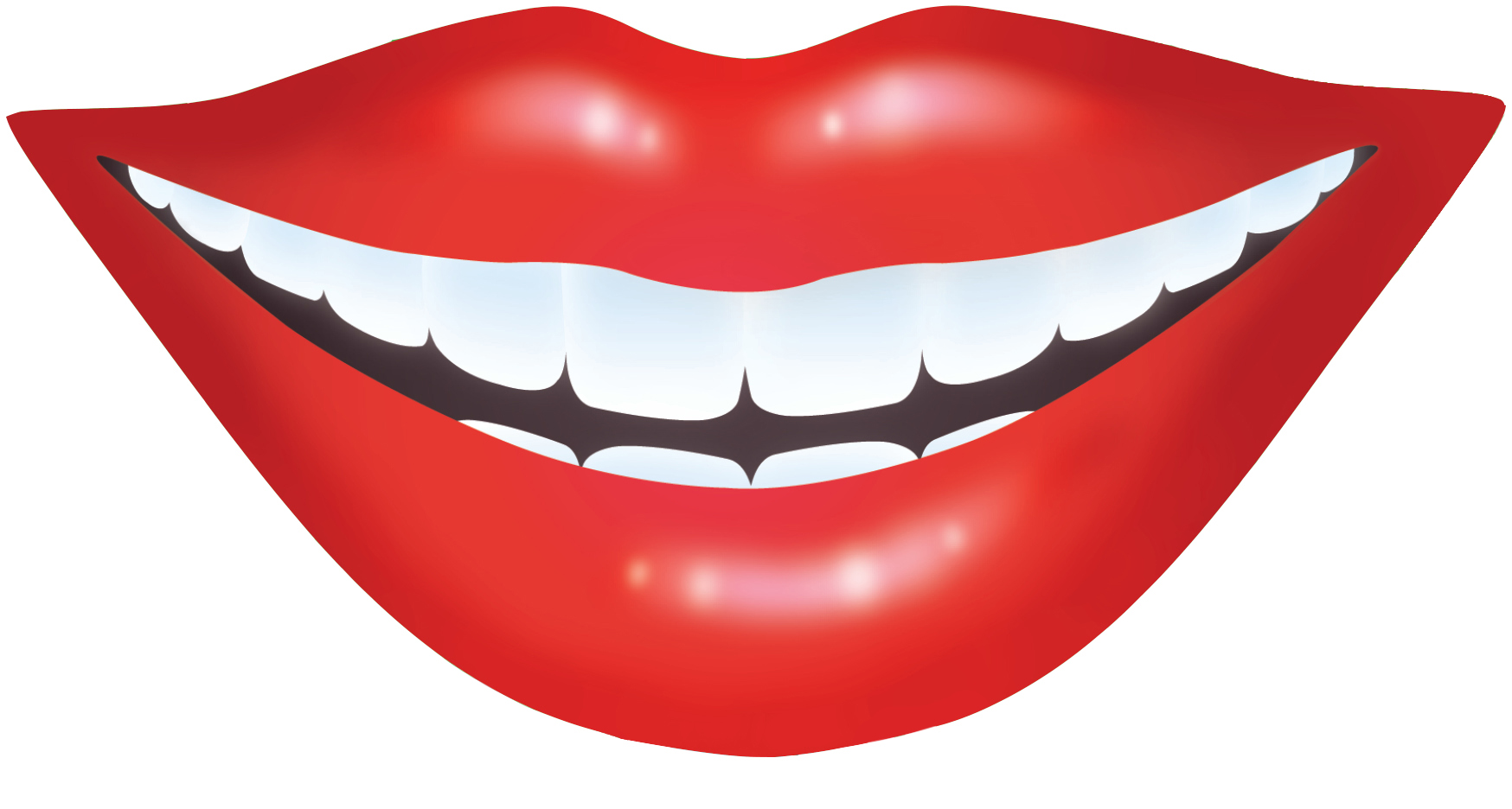 mouth clipart happy