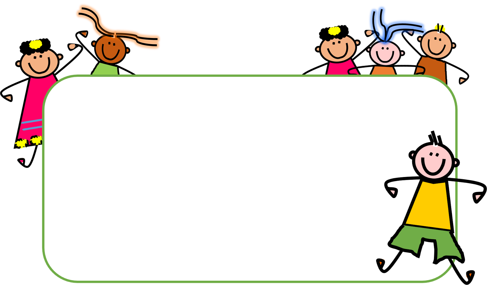 Children clipart wallpaper.