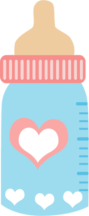 pacifier clipart baby bottle