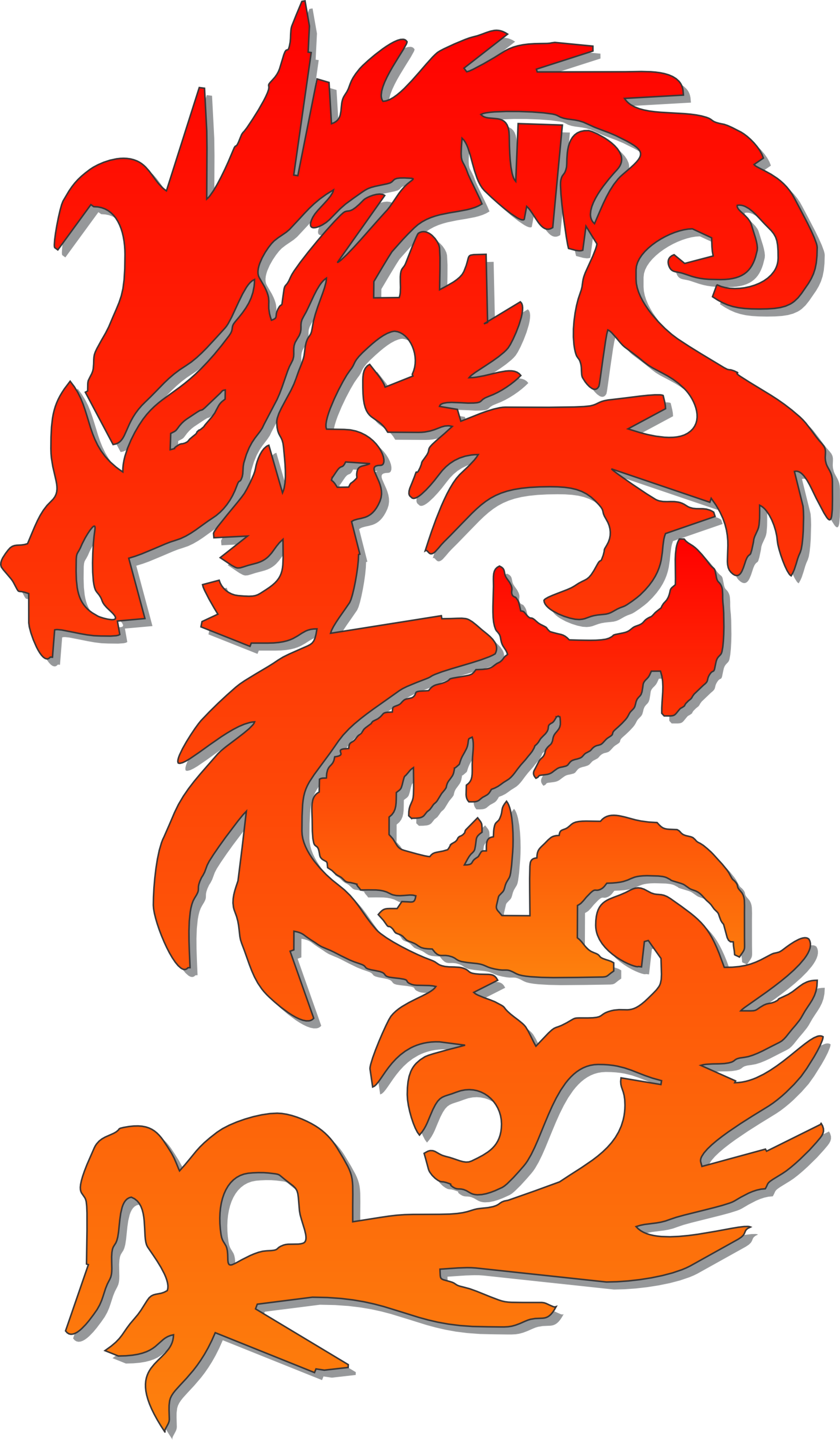 dragon clipart chinese