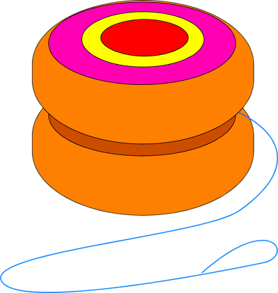yoyo clipart cartoon