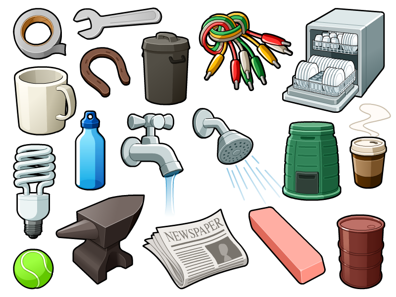 Chore clipart everyday object.