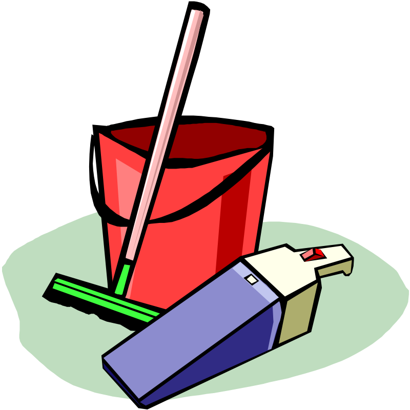 chores clipart cleaning