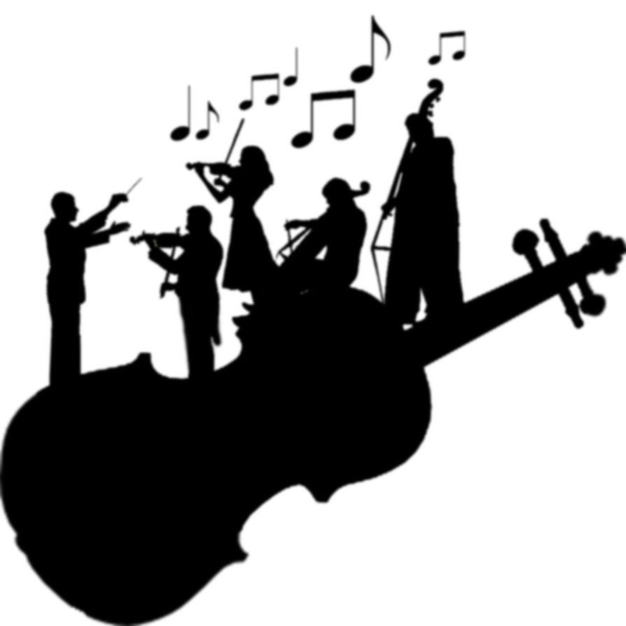 orchestra clipart music