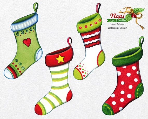 christmas stocking clipart small