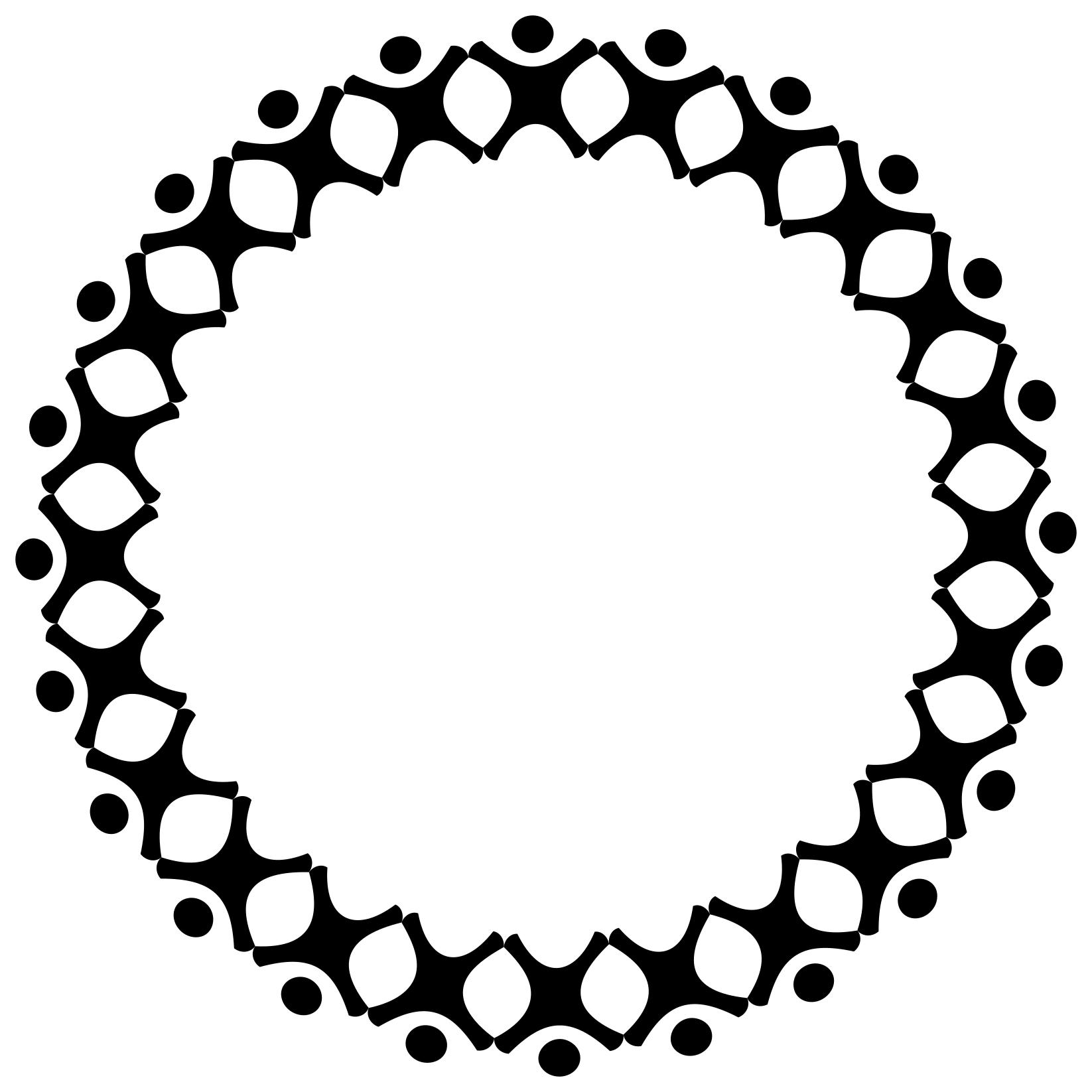 Circle clipart papermilkdesign.