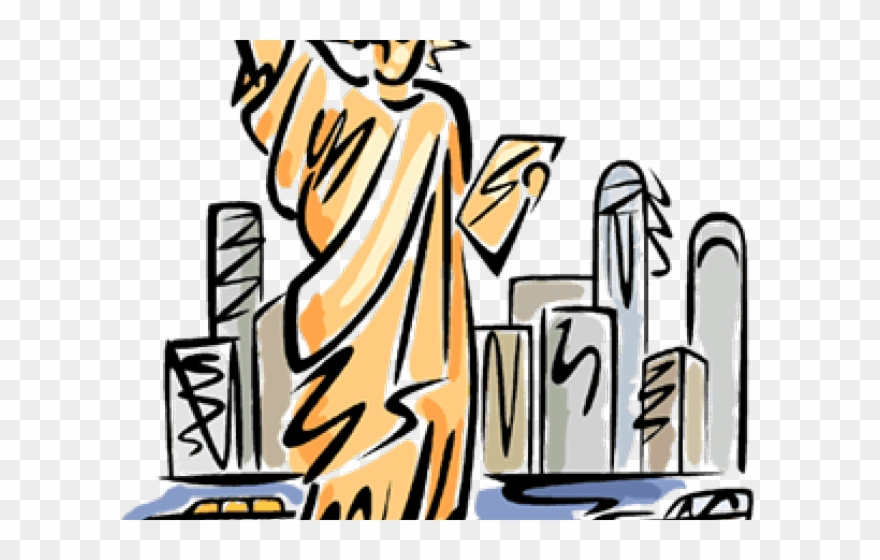 statue of liberty clipart small