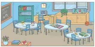 Classroom clipart things inside.