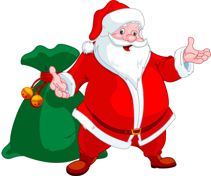 Claus clipart toy.