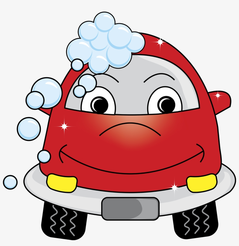 car wash clipart red