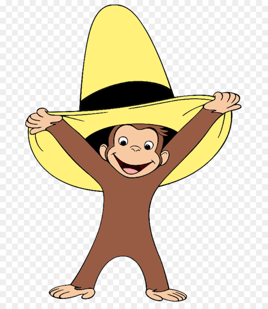 curious george clipart yellow hat