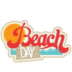 picture day clipart beach