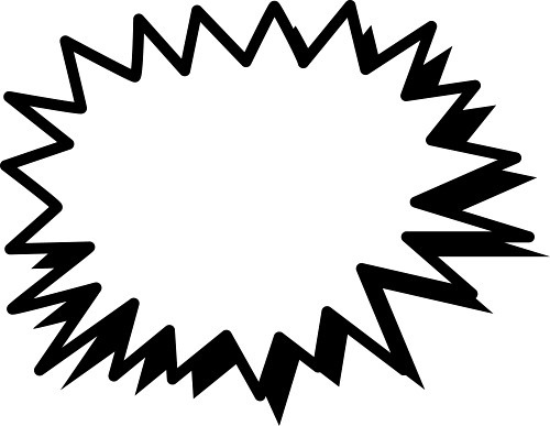 muzzle flash clipart starburst