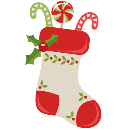 christmas stocking clipart silhouette