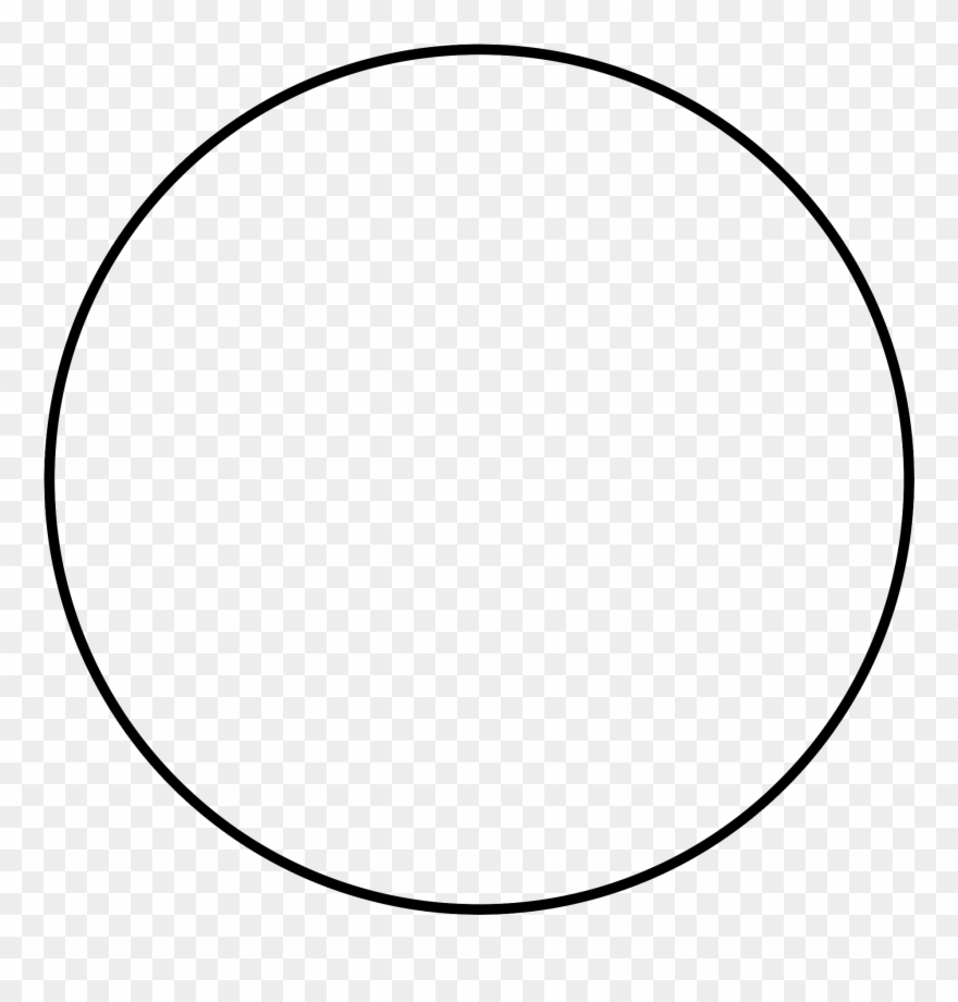 Clipart circle white.