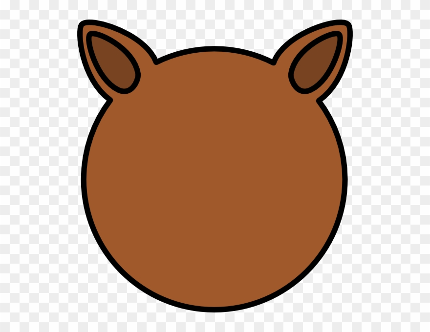 ear clipart brown