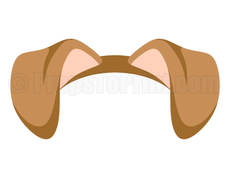 dog filter clipart printable