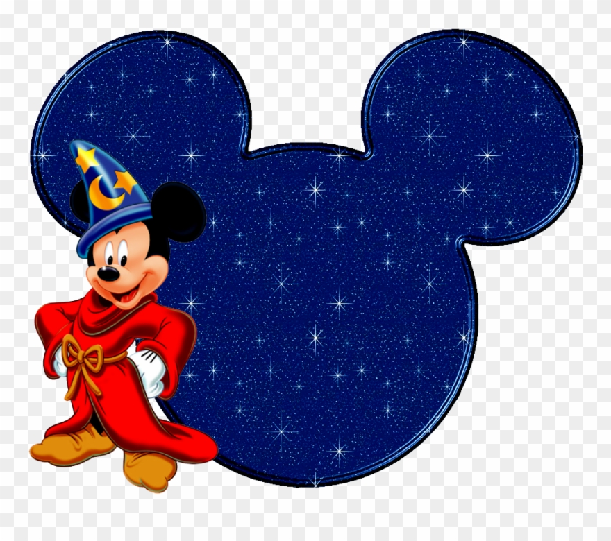 mickey mouse clipart blue