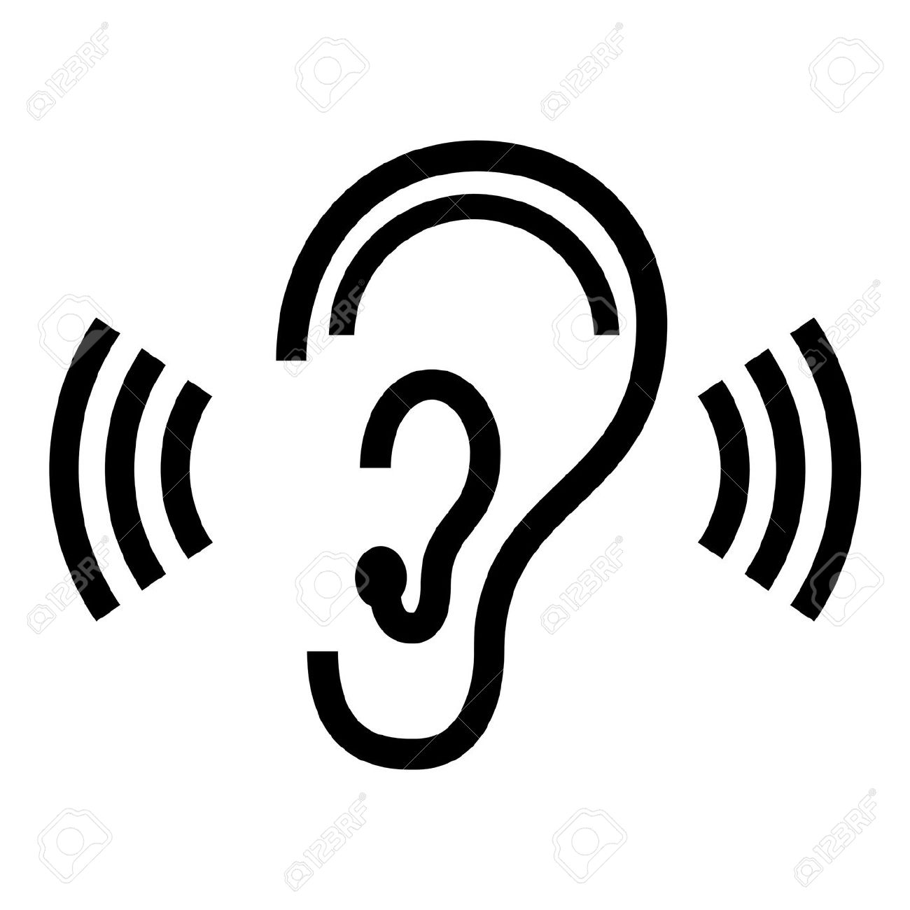 Listening ears clipart communication hearing.