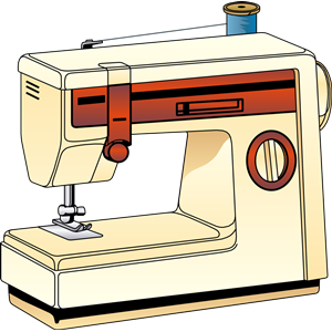 sewing machine clipart svg