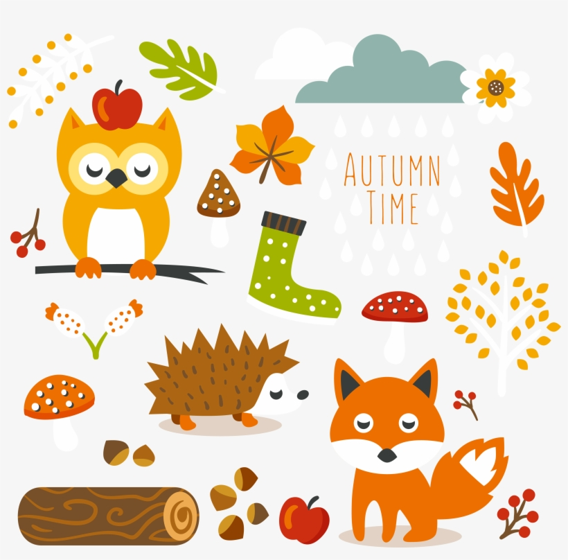 Autumn clipart cute.