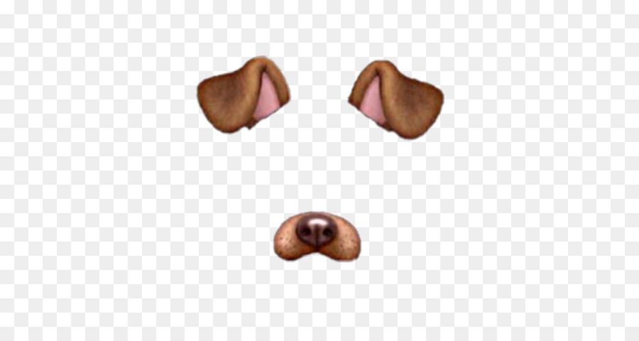 snapchat dog filter clipart business