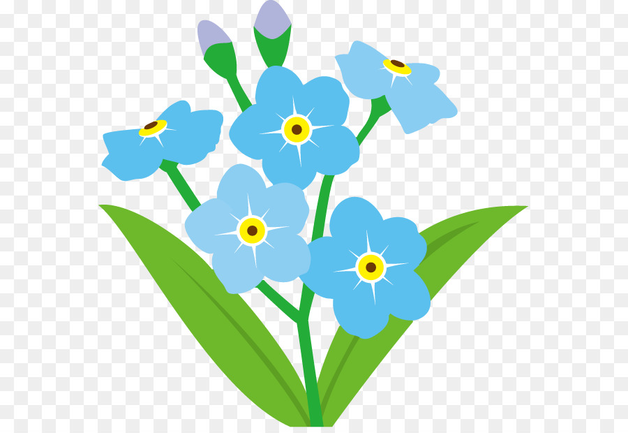 Clipart flowers transparent background.