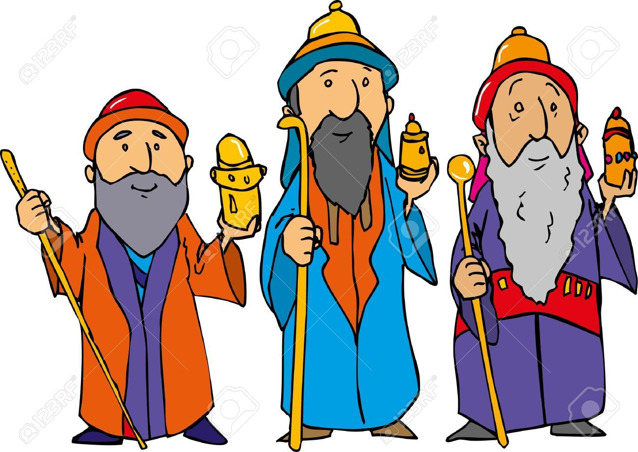 Clipart free wise men.