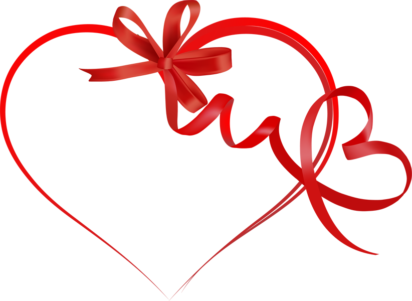 valentine day clipart free ribbon