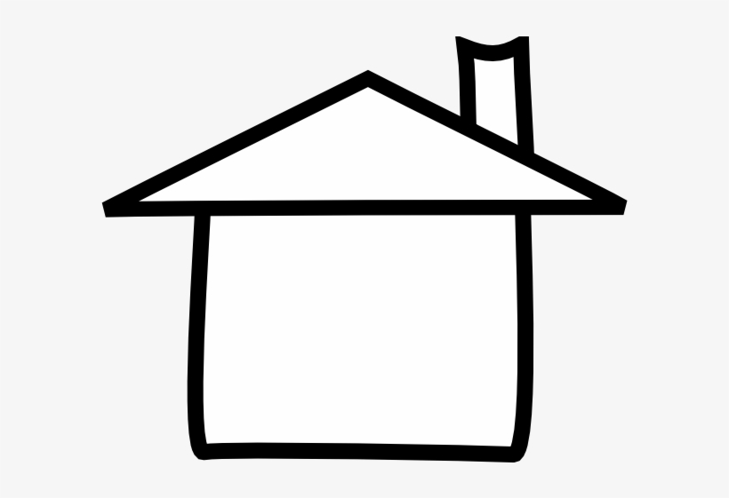 Clipart houses outline.