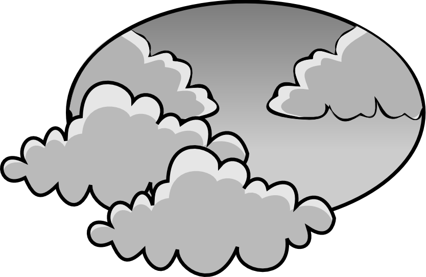 picture day clipart cloudy