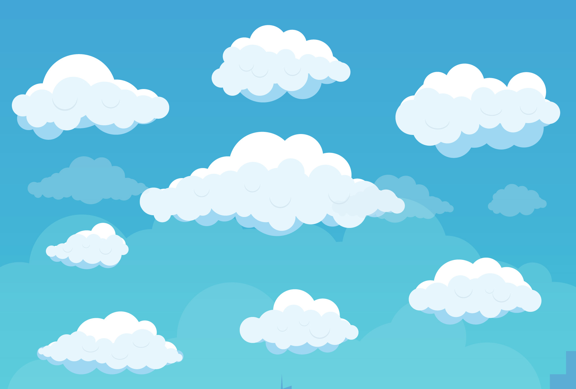 Clouds clipart png.