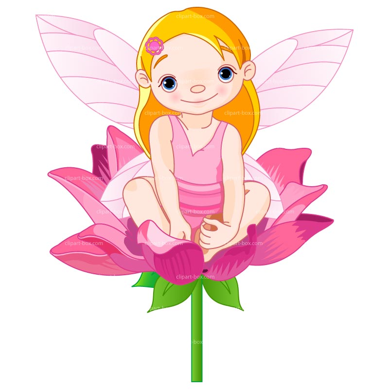 fairy clipart pink